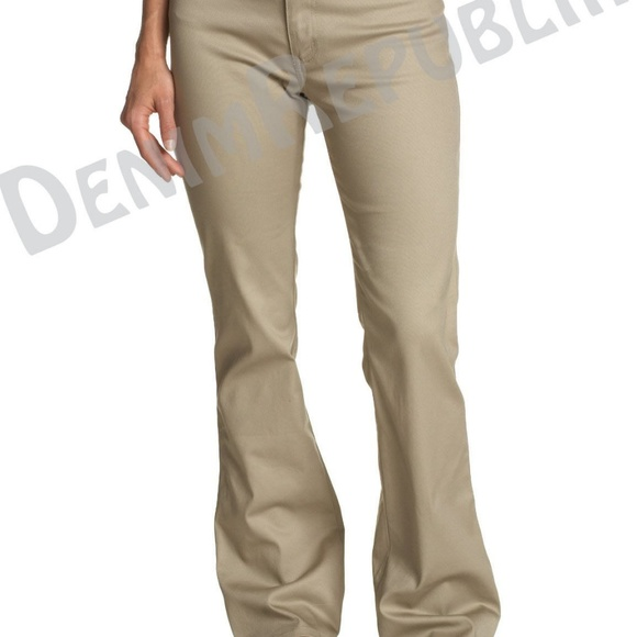 094c07485a3c09 Dickies Pants | Girls Slim Fit Boots Cut N882 Worker | Poshmark